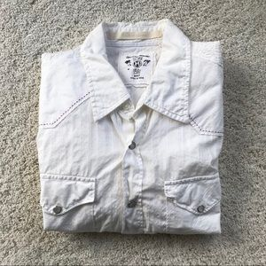 White Men's Button Up by Guess Jeans
